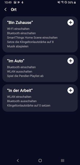 Bixby auf Deutsch unterstützt auch Schnellbefehle. (Screenshot: t3n.de)