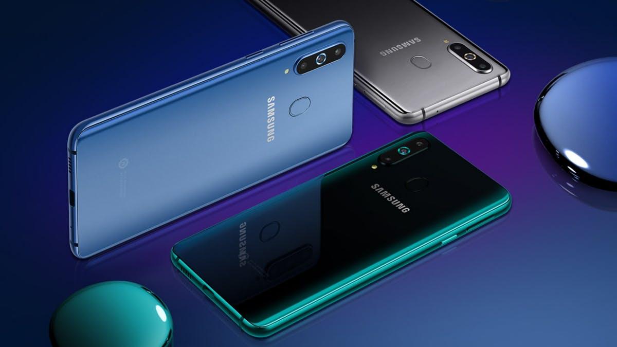 Galaxy A8s: Samsungs erstes Smartphone mit Loch im Display
