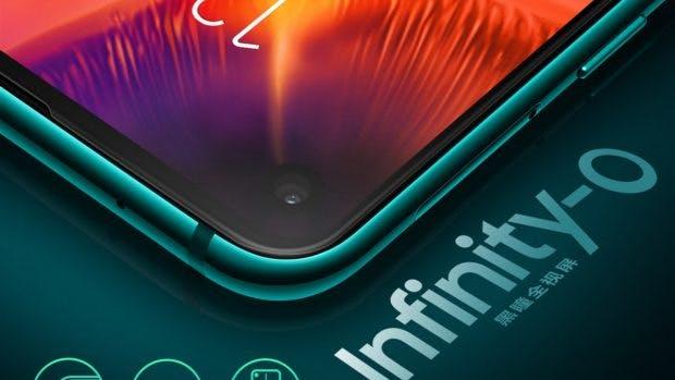 Samsung Galaxy A8s mit Infinity-O-Display. (Bild: Samsung)