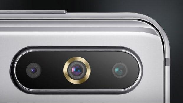 Das Samsung Galaxy A8s besitzt eine Triple-Kamera mit Weitwinkel. (Bild: Samsung)