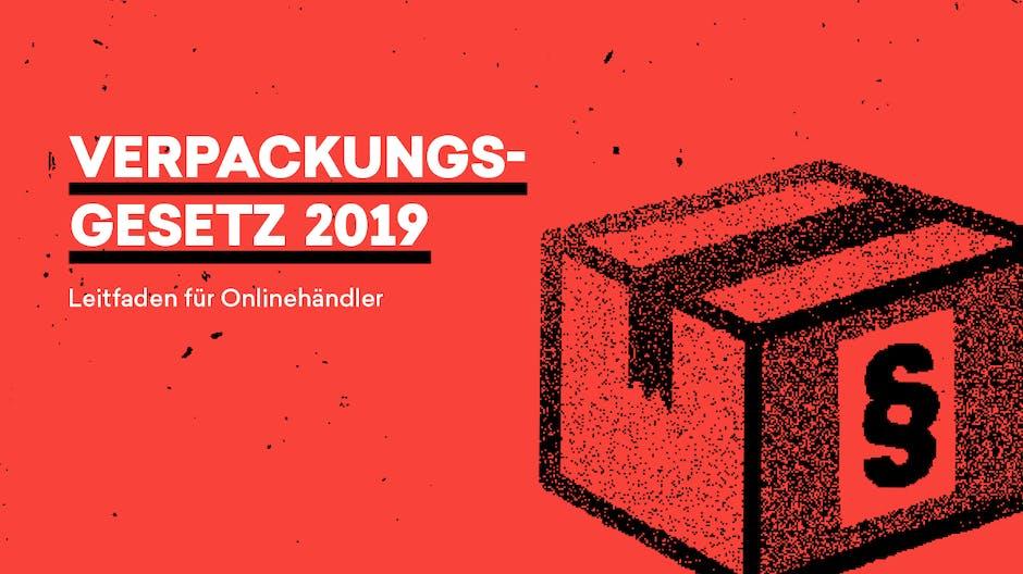 Verpackungsgesetz 2019: Sichere dir den t3n-Leitfaden als PDF