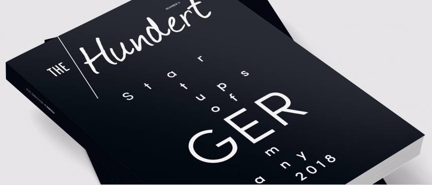 The Hundert – die 100 innovativsten Startups in Deutschland