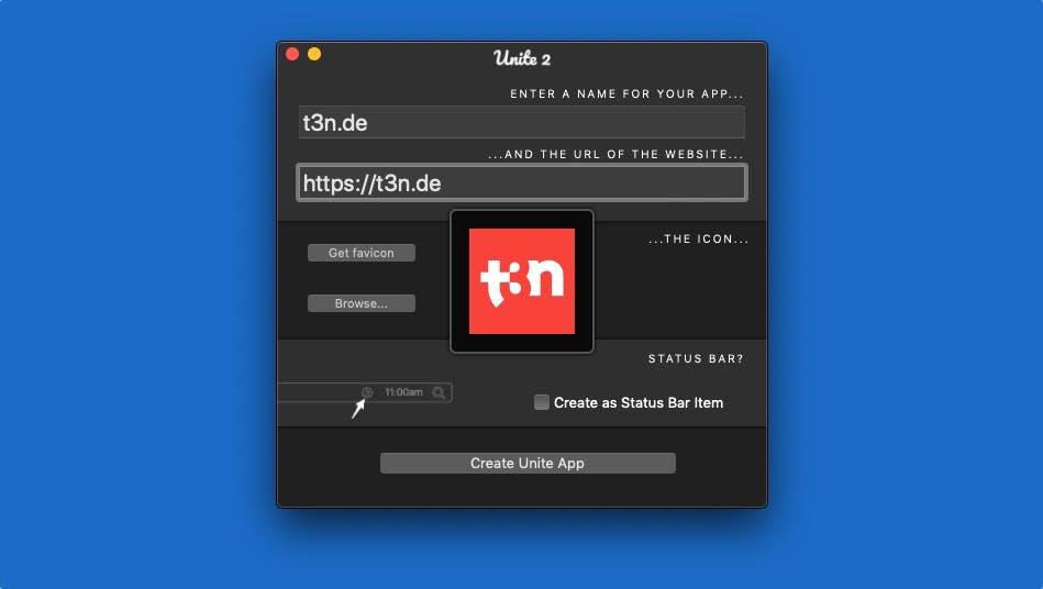 Jede Website als macOS-App: Unite in Version 2 erschienen