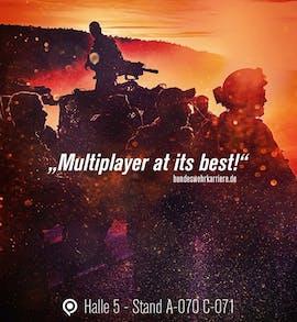 Bundeswehr-Werbung zur Gamescom