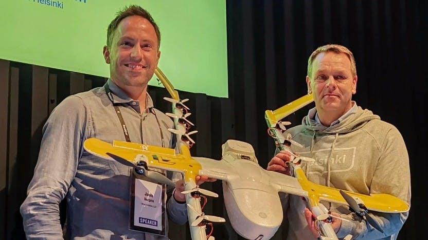 Google: Drohnen-Lieferdienst Wing startet in Europa