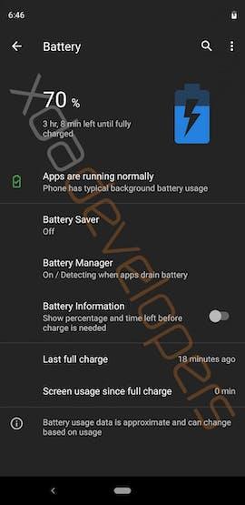 Android Q auf dem Pixel 3 XL. (Bild: XDA Developers)