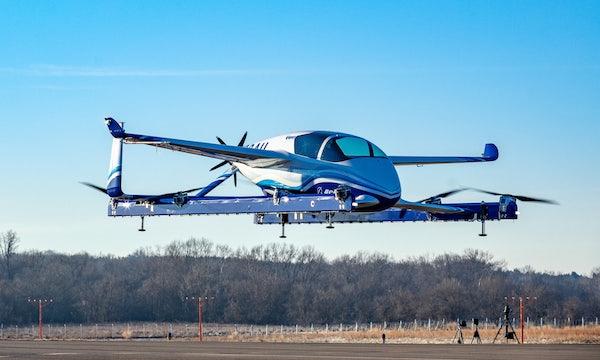 Flugzeugbauer Boeing und Autobauer Porsche entwickeln ein fliegendes Auto mit Elektroantrieb