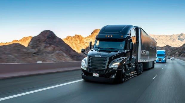 Daimler will 500 Millionen Euro in hochautomatisierte Lkw investieren