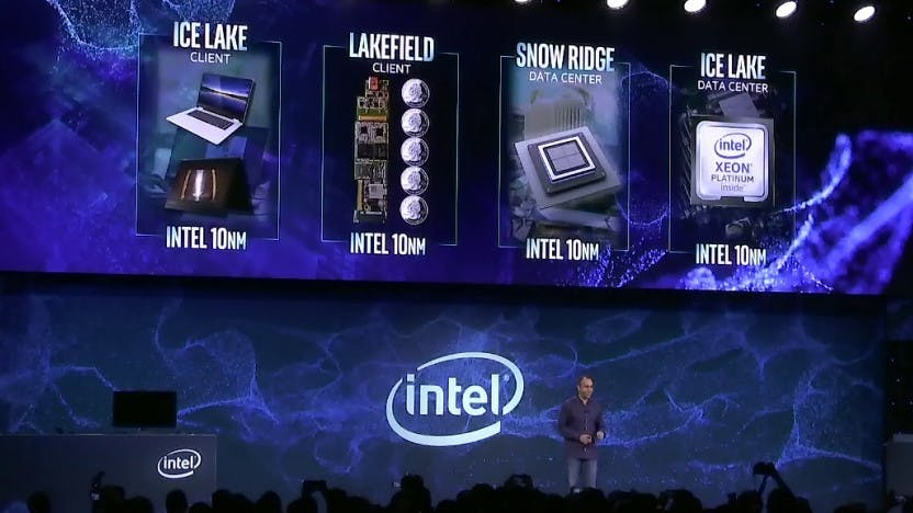 Intel kündigt multiple 10-nm-Prozessoren an – Ice Lake, Snow Ridge und Lakefield