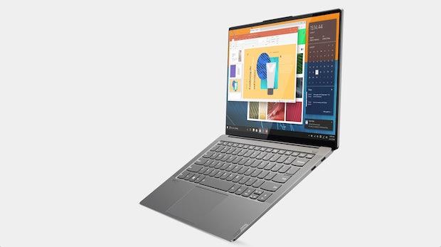Displayrahmen wie beim Smartphone: Neues Lenovo-Yoga-Notebook will den Business-Alltag verbessern
