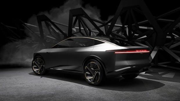 Elektro-Luxuslimousine Nissan IMs Concept. (Bild: Nissan, via The Verge)