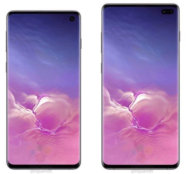 "Samsung Galaxy S10 und S10 Plus. (Bild: <a href=""https://winfuture.de/news,107205.html"">Winfuture</a>)"