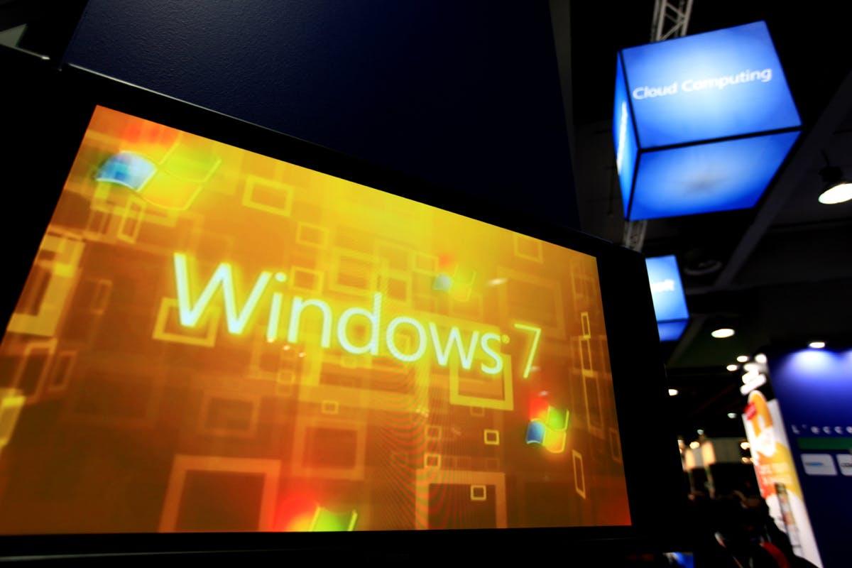 Microsoft stellt Support für Windows 7 in einem Jahr ein
