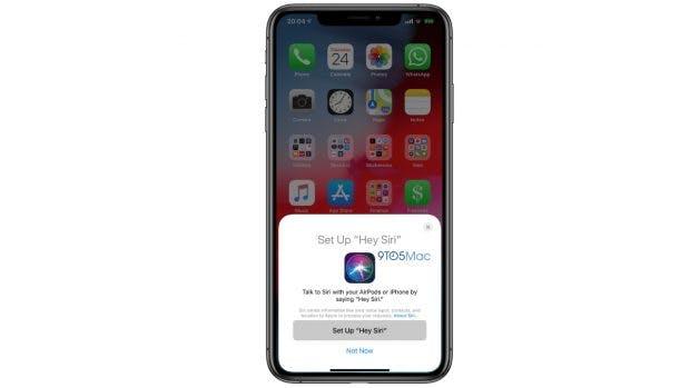 Deutlicher Hinweis in der Beta von iOS 12.2: Die Airpods 2 erhalten Hey-Siri-Unterstützung. (Bild: 9to5Mac)