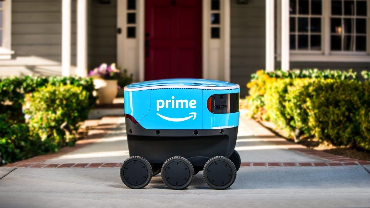 Scout: Auch Amazon versucht sich an einem Zustellroboter
