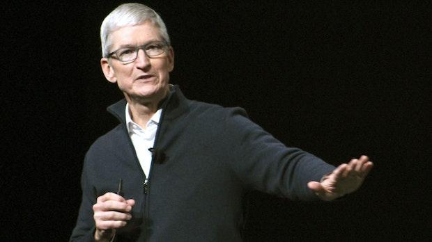 Tim Cook: Apple übernimmt alle drei Wochen ein Unternehmen