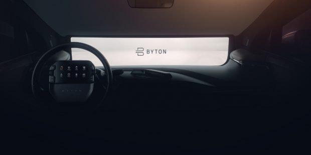 Das Auto-Startup Byton will auf der CES 2019 die die neuesten Fortschritte des ersten Serienautos zeigen. (Bild: Byton)