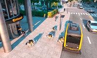 Vierbeinige Lieferroboter: Continentals Konzept der Paketzustellung von morgen