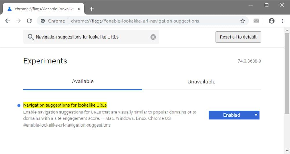 (Screenshot: Google Chrome / ZDnet)