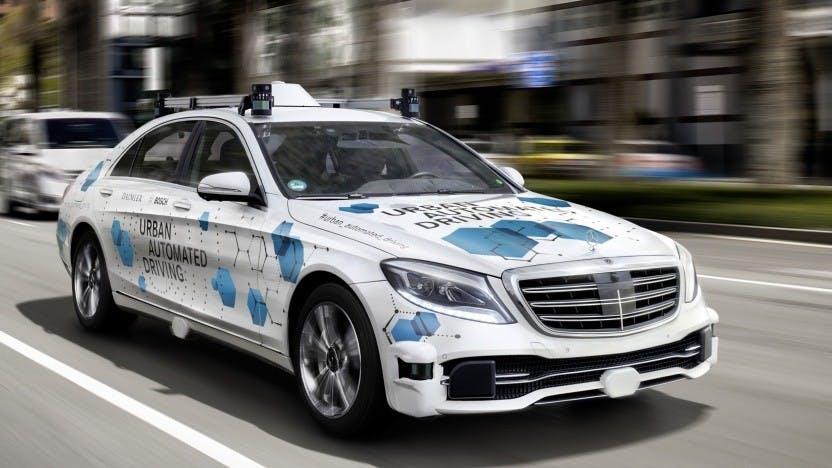 Daimler: Ab 2021 will der Konzern massenhaft selbstfahrende Taxis bauen
