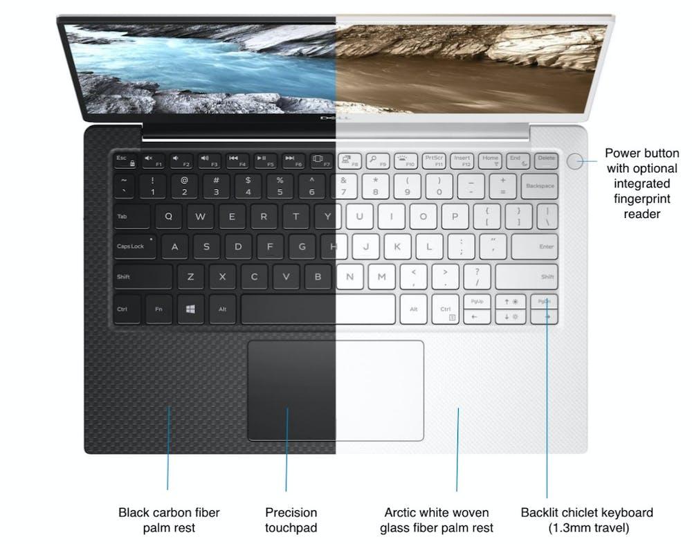 Dell XPS 13 (9380) – Features im Überblick. (Bild: Dell)