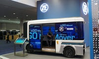 Ego Mover: ZF Friedrichshafen und Startup punkten auf der CES mit elektrischem Kleinbus