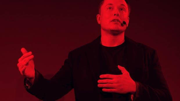 Das Horrorjahr von Elon Musk – in einer einzigen Grafik