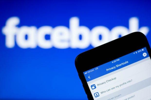 Datenschutz bei Facebook.