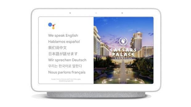 Google Assistant kann auf Smart-Displays als Dolmetscher genutzt werden. (Bild: Google)