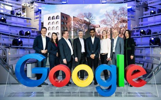 Berlin: Neues Google-Gebäude und digitale Bildungsinitiative für Deutschland