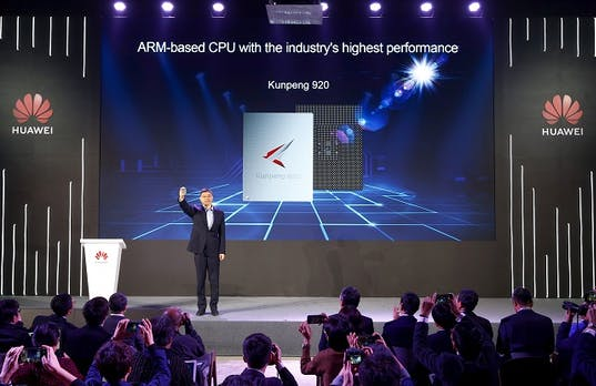 Huawei kündigt den weltweit schnellsten ARM-Prozessor Kunpeng 920 an