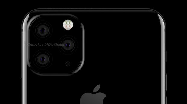 Apples 2019er iPhone Max mit Triple-Kamera à la Mate 20 Pro