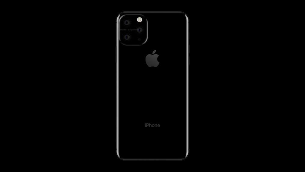 So könnte das iPhone XI Max von hinten aussehen. (Renderbild: Onleaks)