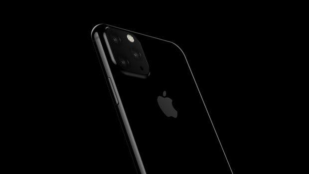 "Das iPhone XI Max soll mit Triple-Kamera ausgestattet sein. (Renderbild: <a href=""https://www.digit.in/mobile-phones/exclusive-first-look-at-2019-iphone-xi-renders-45655.html"">Onleaks</a>)"