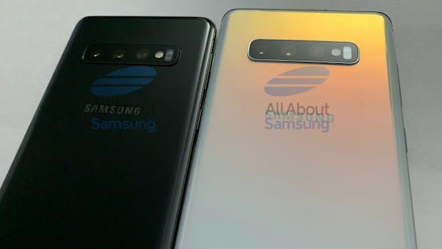 Leak des Samsung Galaxy S10. (Foto: AllaboutSamsung)