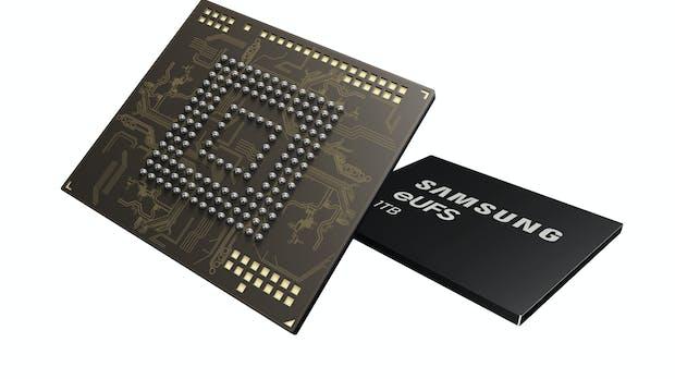 1 Terabyte: Samsung baut großen Flash-Speicher für Smartphones
