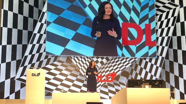 """Facebooks Sheryl Sandberg auf der DLD-Konferenz: Ein """"Wir"""", das es nicht gibt"""