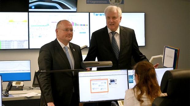 Bundesminister Seehofer will mehr Kompetenzen fürs BSI