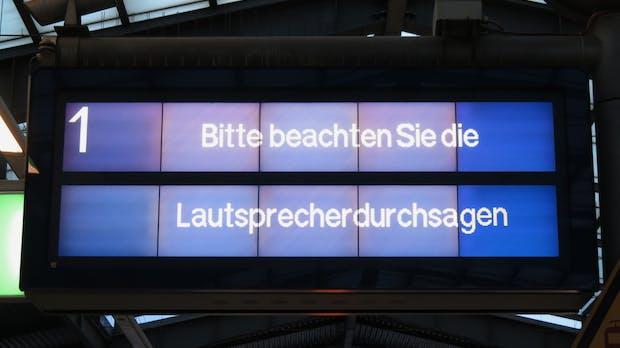 Für mehr Entspannung am Bahnsteig – DB testet intelligentes Soundsystem im Realbetrieb