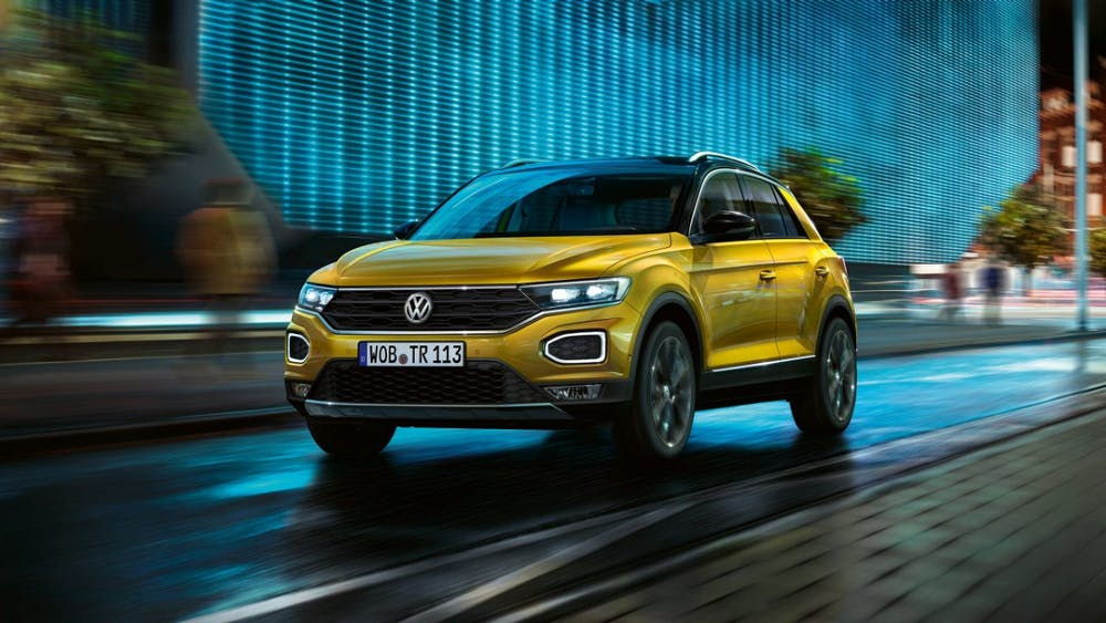 Der 20.000Euro-Einstiegsstromer soll ein Kompakt-SUV wie der T-Roc werden. (Bild: Volkswagen)