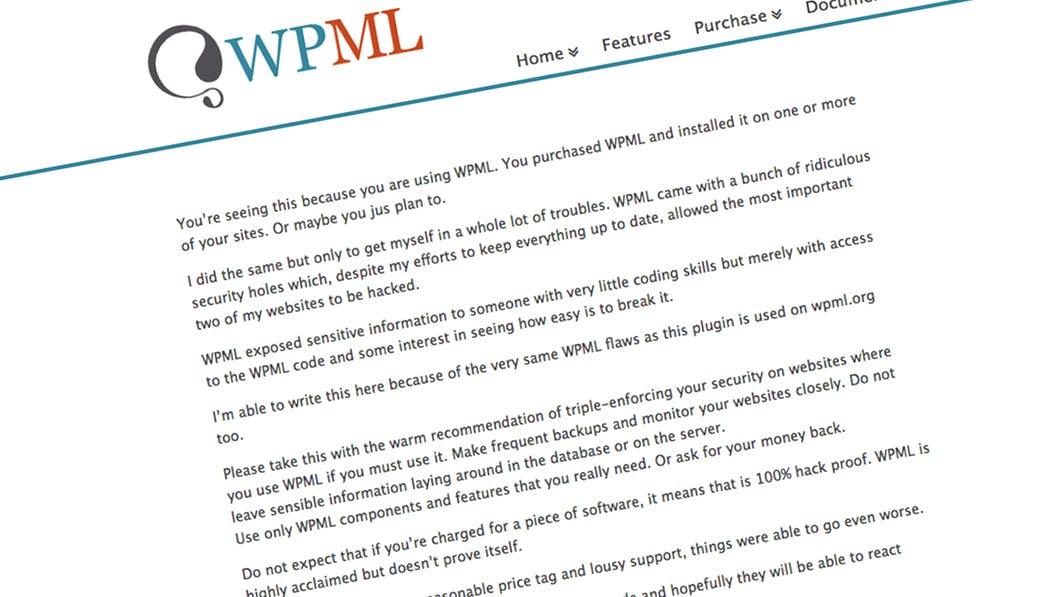 WordPress-Plugin WPML: Ex-Mitarbeiter sorgt unter Kunden für Aufregung