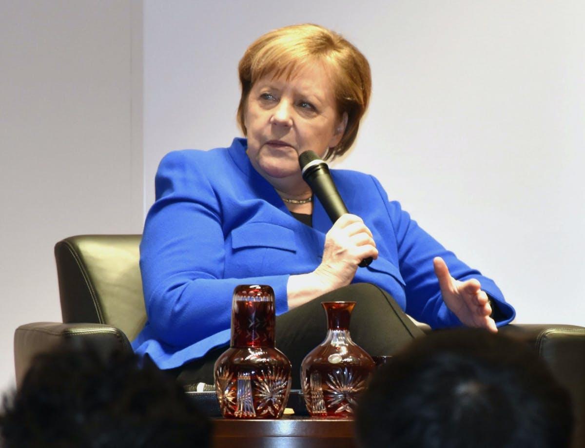 """Huawei: Merkel fordert """"Sicherheit"""" und Opposition konkrete Maßnahmen"""