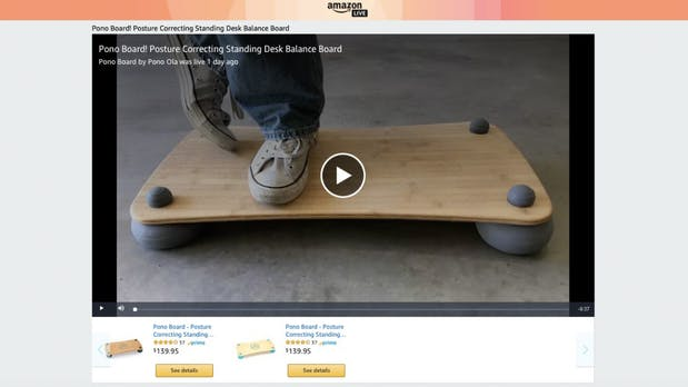 Amazon hat Homeshopping-Streaming-Kanal für Händler gestartet