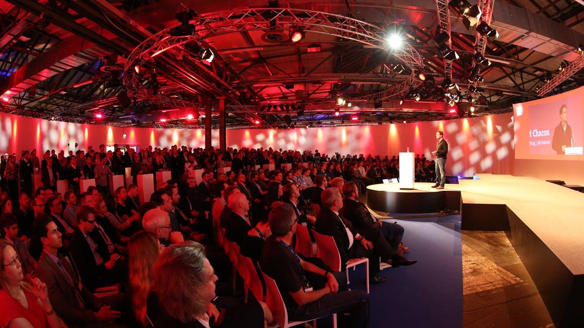 Vernetz dich mit Europas wichtigsten Digitalentscheidern auf der hub.berlin!
