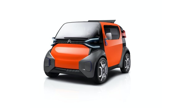 Citroën-Konzept Ami One. (Grafik: Citroën)
