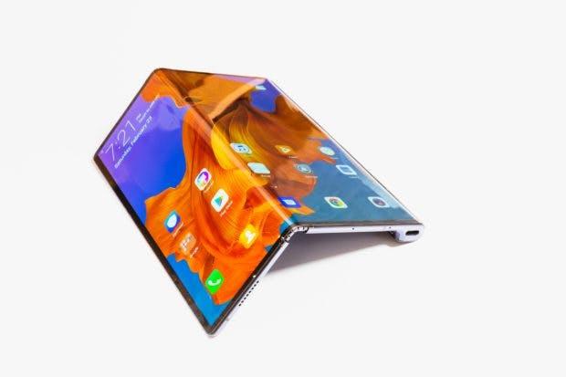 Ausgeklappt bietet das Huawei Mate X eine Displaydiagonale von acht Zoll. (Foto: Huawei)