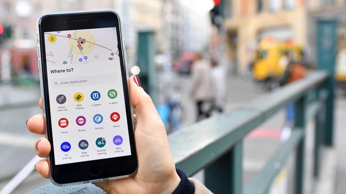 Jelbi: Neue BVG-App vereint Öffis, Taxis, Bike- und Ride-Sharing
