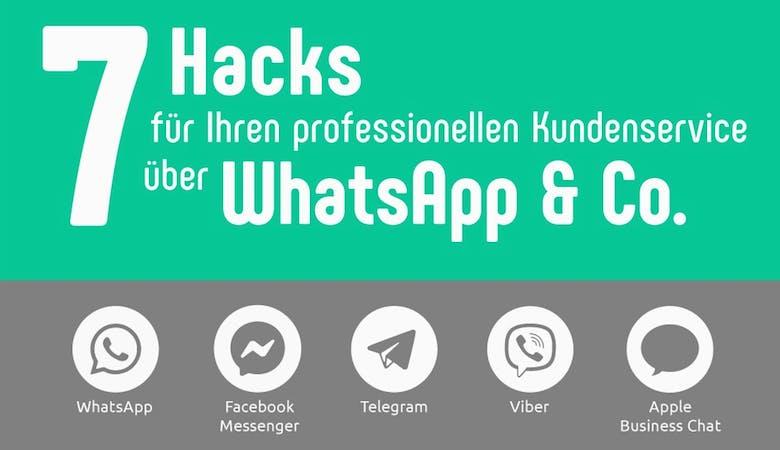 7 Hacks für den Kundenservice via Messenger