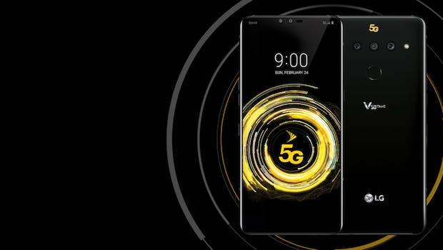 LG V50 5G. (Bild: LG)