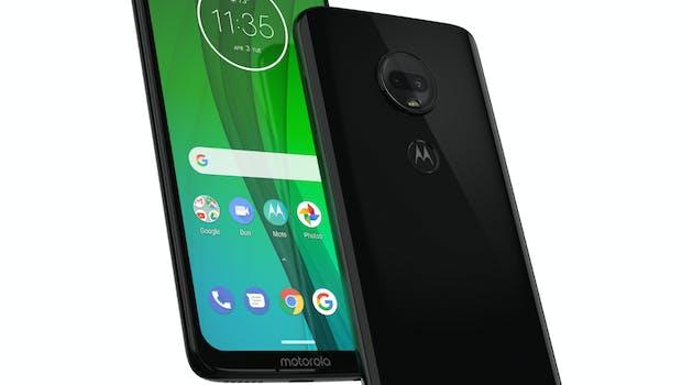 Das Moto G7 Plus. (Bild: Motorola)